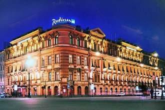 The Radisson St Petersburg Russia