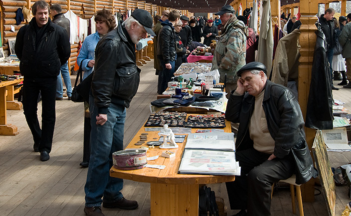 Fleat Market Moscow