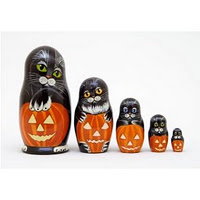 russian halloween dolls matryoshka
