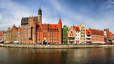 embankment of Gdansk