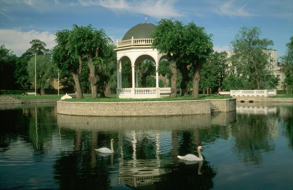 Kadriorg Swan Pond