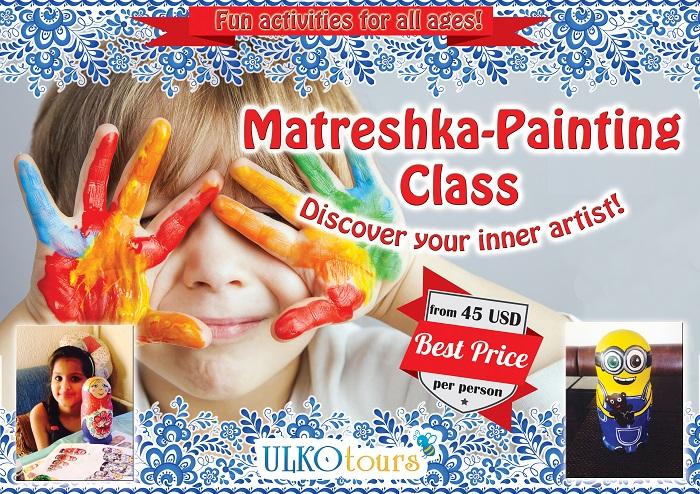 Matreshka Painting class