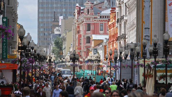 Arbat in Russia