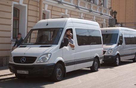 Drivers in St Petersburg