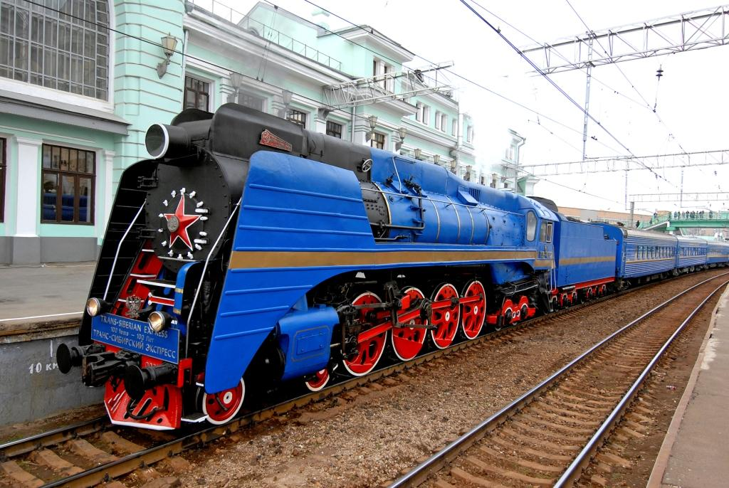 "From Vladivostok to Moscow by luxury train ""Imperial Russia"""