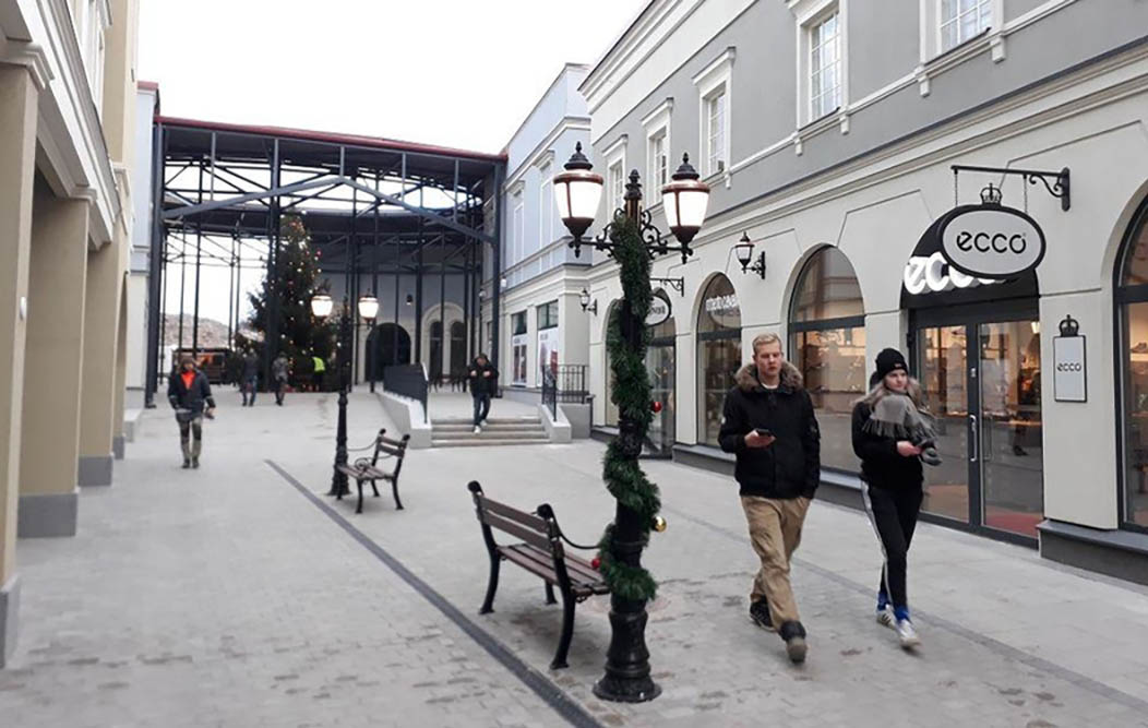 A New Shopping Point on Russian-Finnish Border