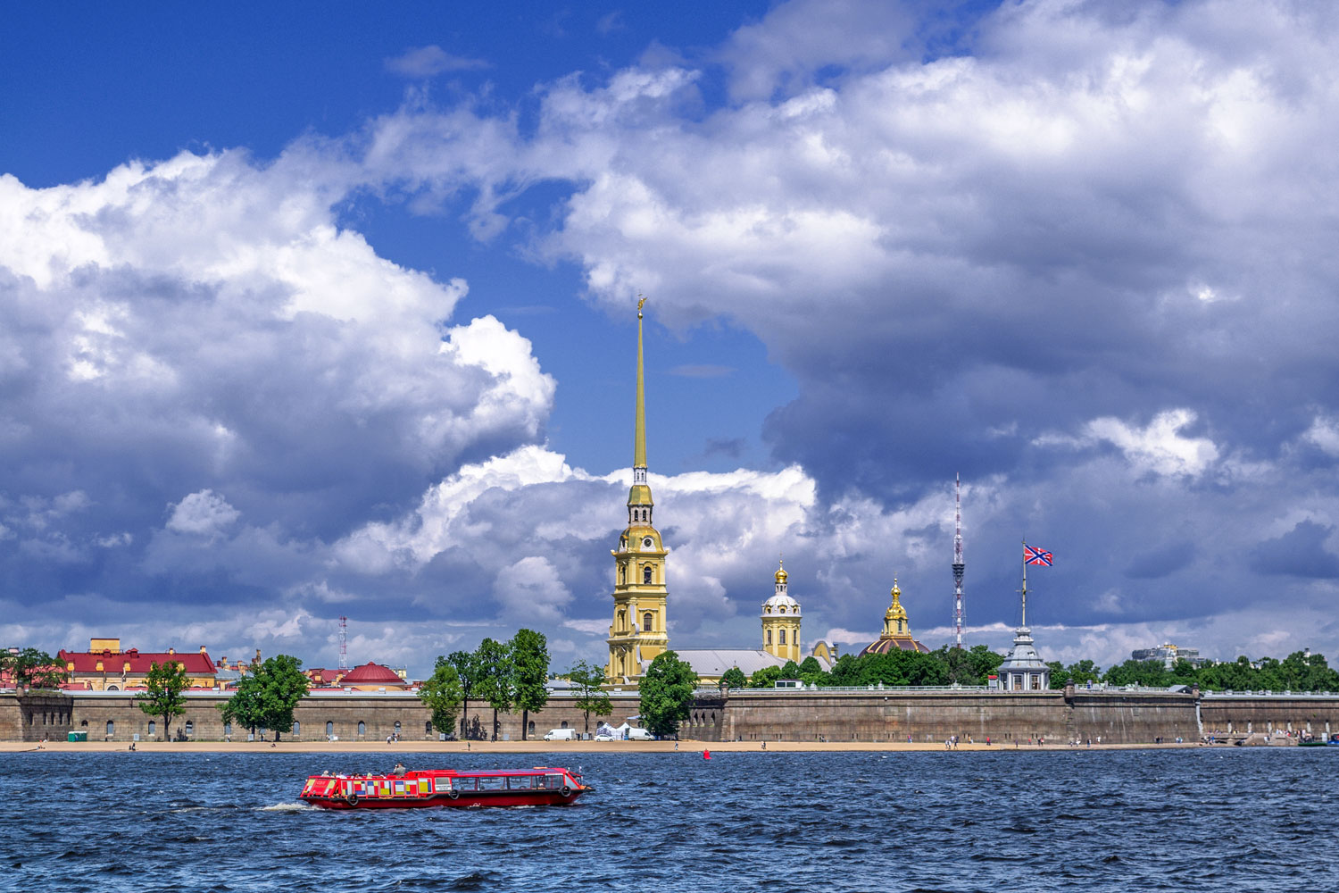 Private 3-Day Moderate Tour of St Petersburg