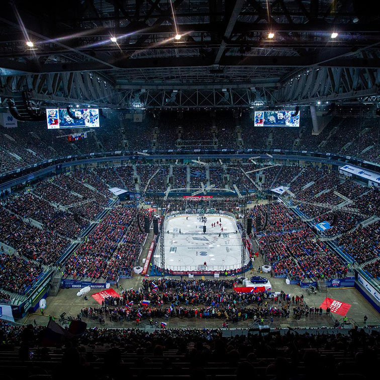 The Biggest Hockey Match Auditory in World's History