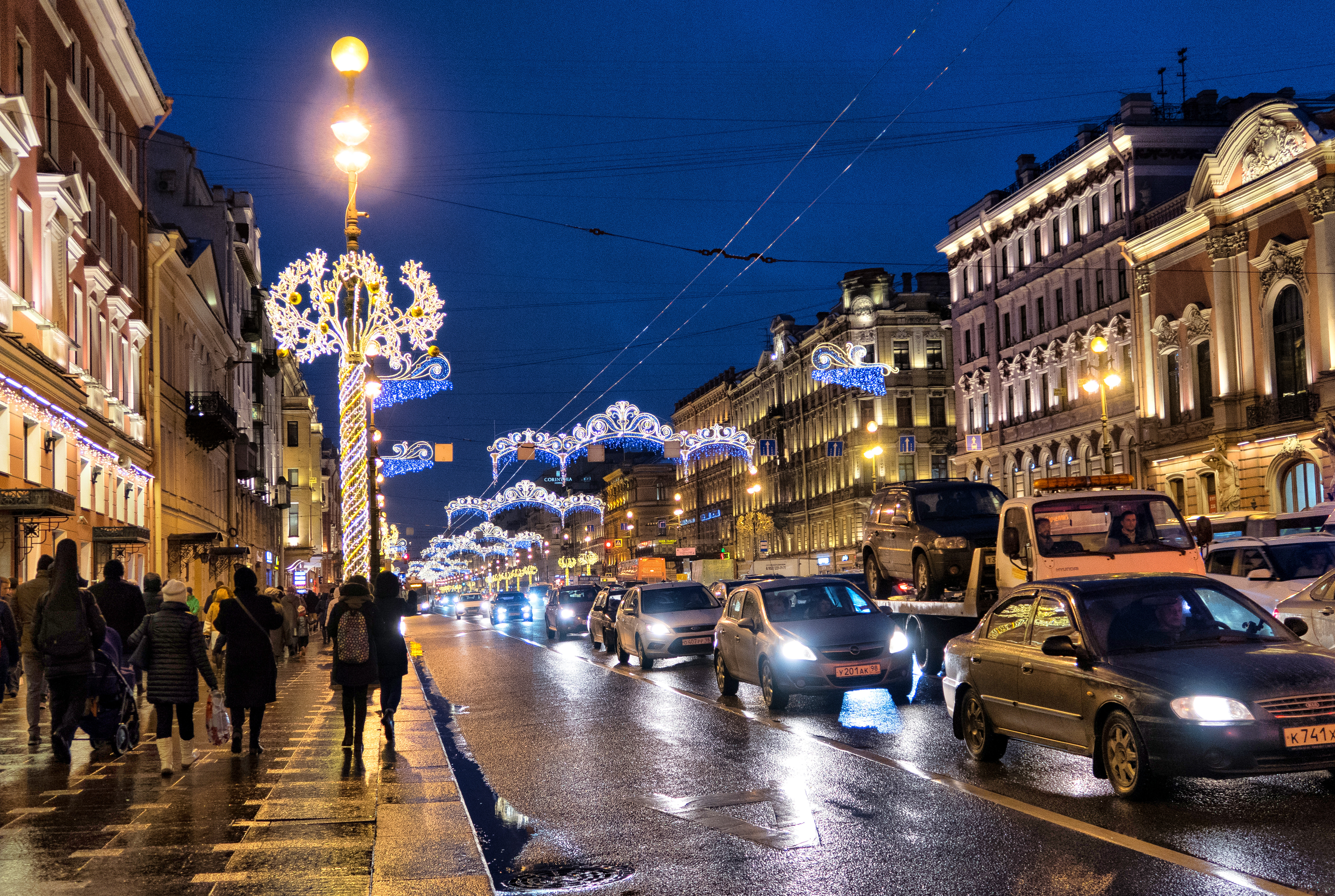 Nevsky Prospect recognized as one of the most beautiful streets in the world.