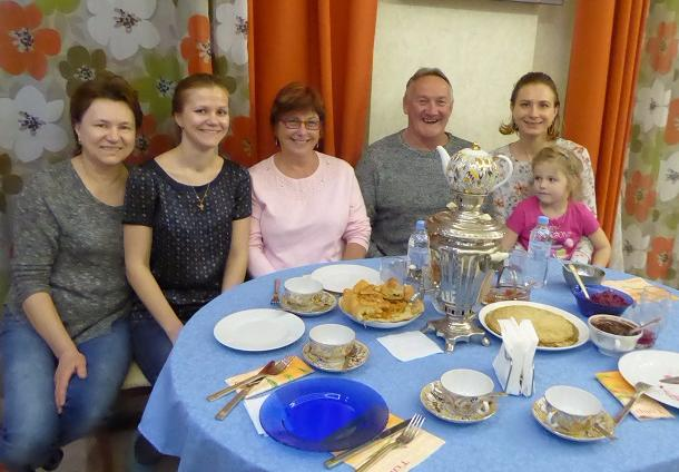 Meal with a Russian Family