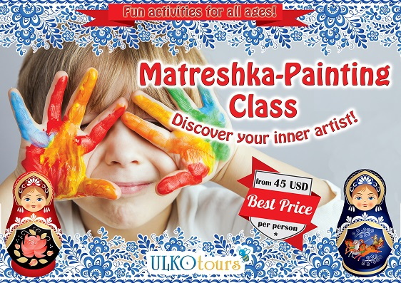 Matryoshka-Doll Private Painting Class