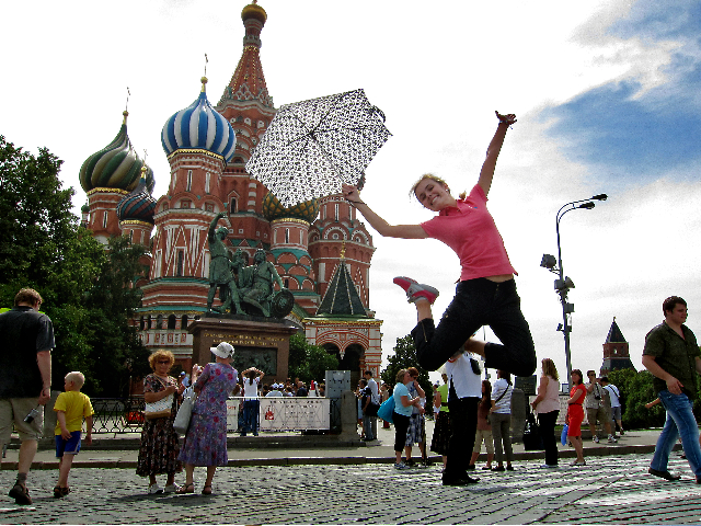Moscow, St.Basil's