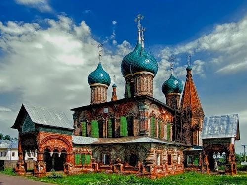 yaroslavl Spaso-Preobrazhensky Cathedral